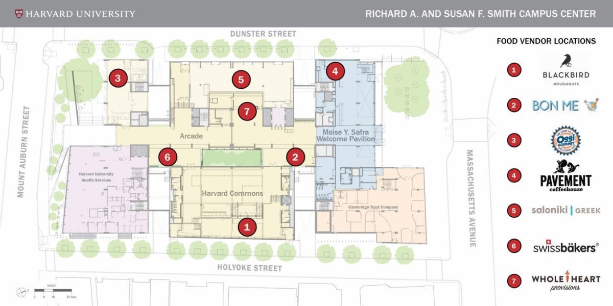 Harvard Common Spaces on campus map harvard university, graduation harvard yard, library harvard yard, campus map mit,