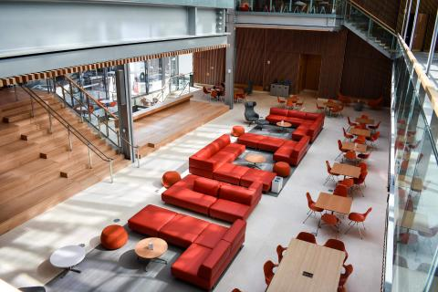Photo of Harvard Commons in the new Smith Campus Center